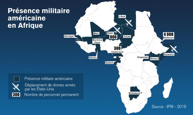 La présence américaine en Afrique