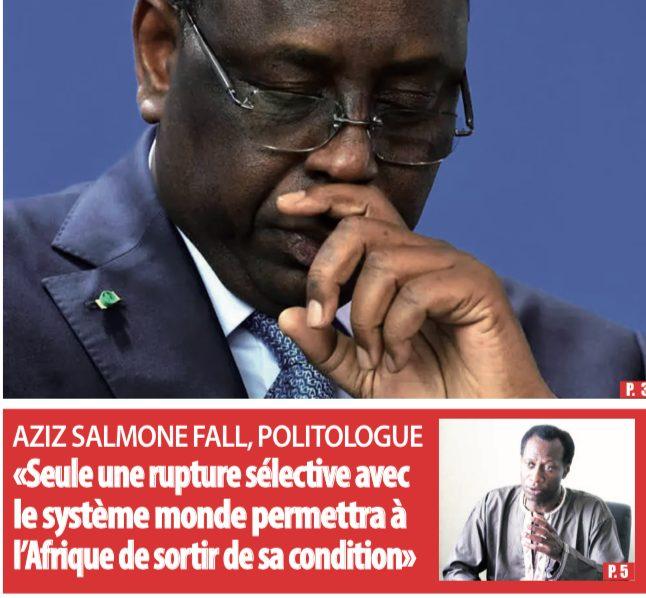 Seule une rupture selective avec le système mondial permettra à l'Afrique de sortir de sa condition
